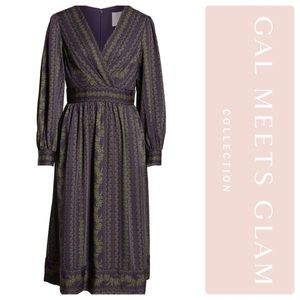 NWT Gal Meets Glam Jocelyn Midi Dress